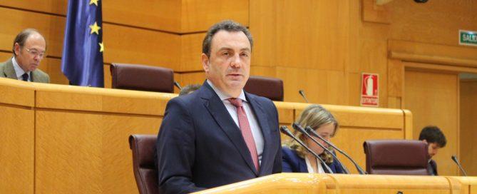 Intervención de Félix de las Cuevas en el Senado (04/03/2020)