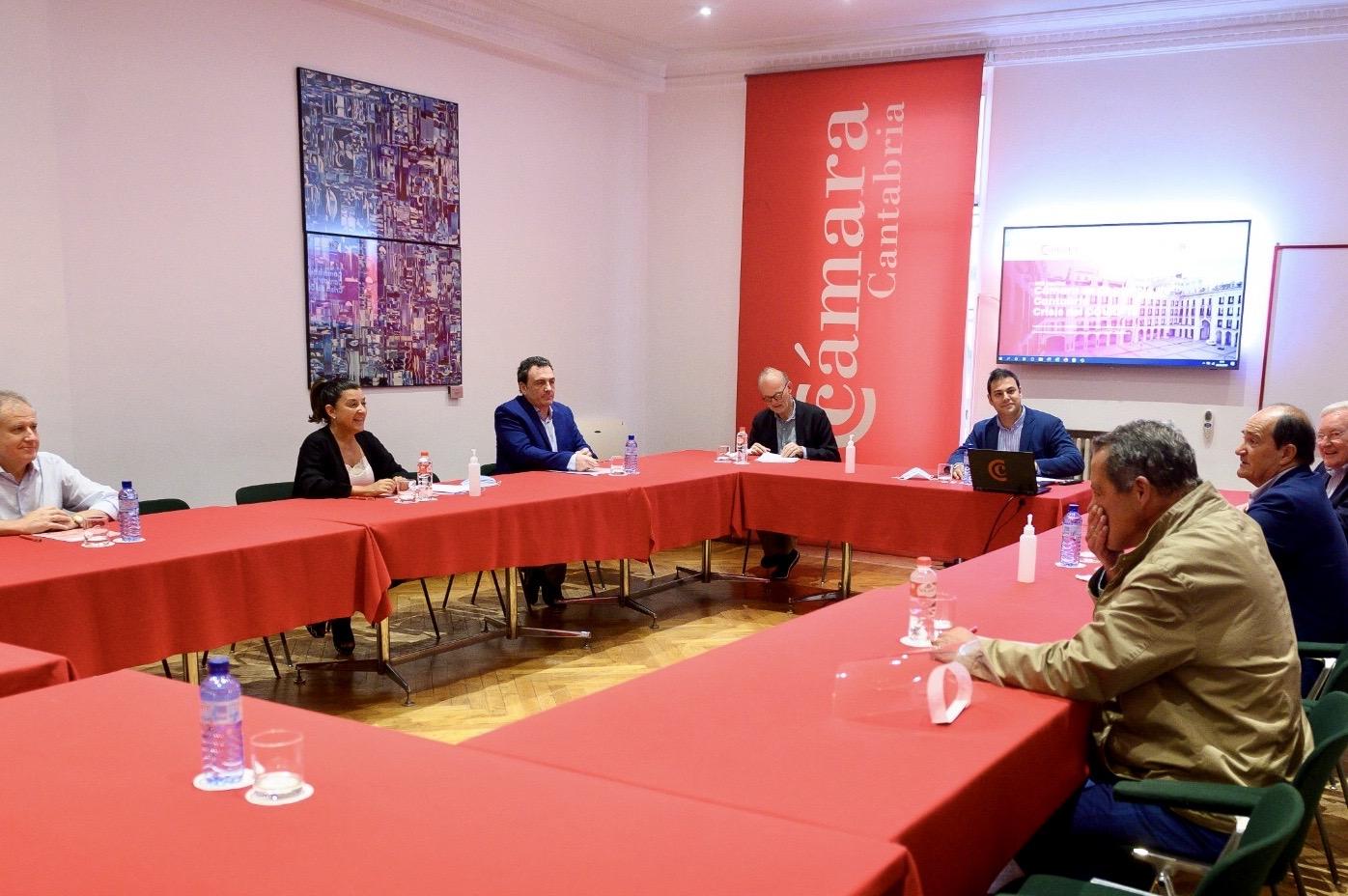 Reunión con Cámara Cantabria