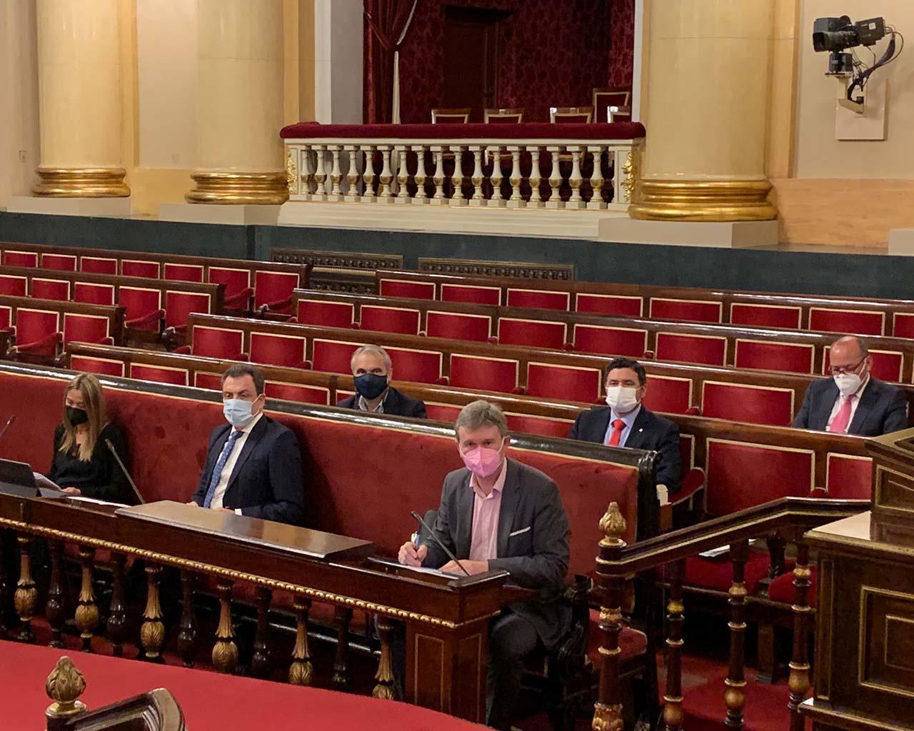 Defensión moción electrointensivas en el Senado